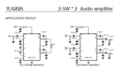 audio amplifier circuit diagram